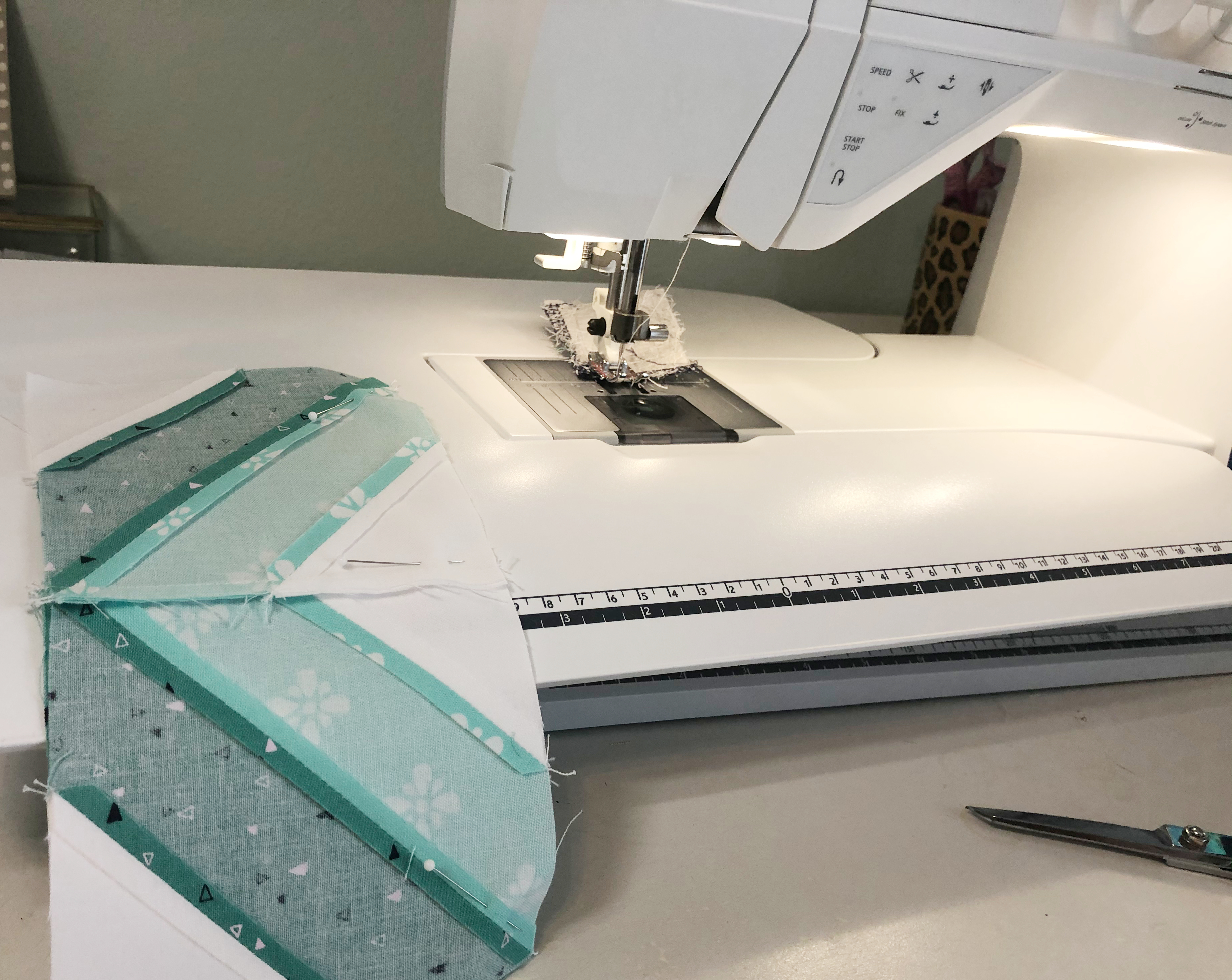 Sewing String Quilt Blocks