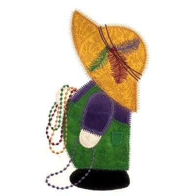 Stitchworthy Embroidery - Mardi Gras SamEDIT