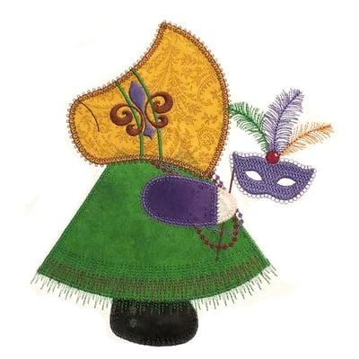 Stitchworthy Embroidery - Mardi Gras SueEDIT