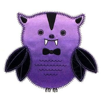 Stitchworthy Embroidery - Owl VampireEDIT
