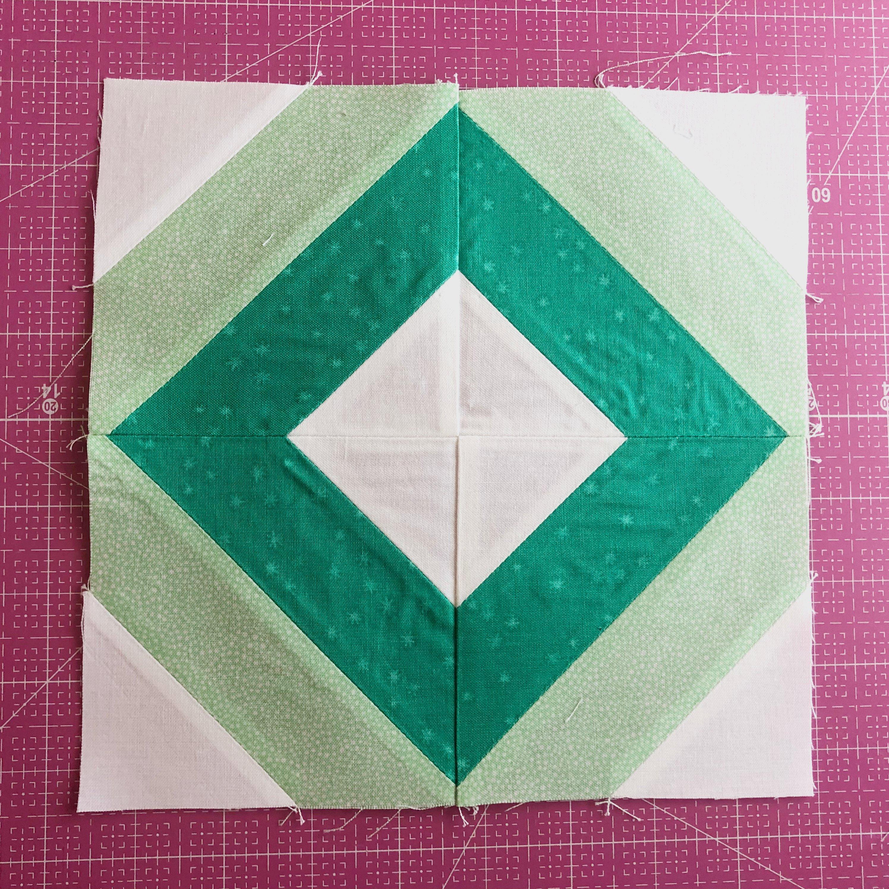 String Quilt Block Step 5