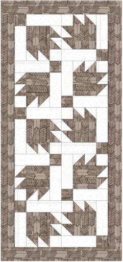 Taupe-Bears Paw-Hoffman Fabrics