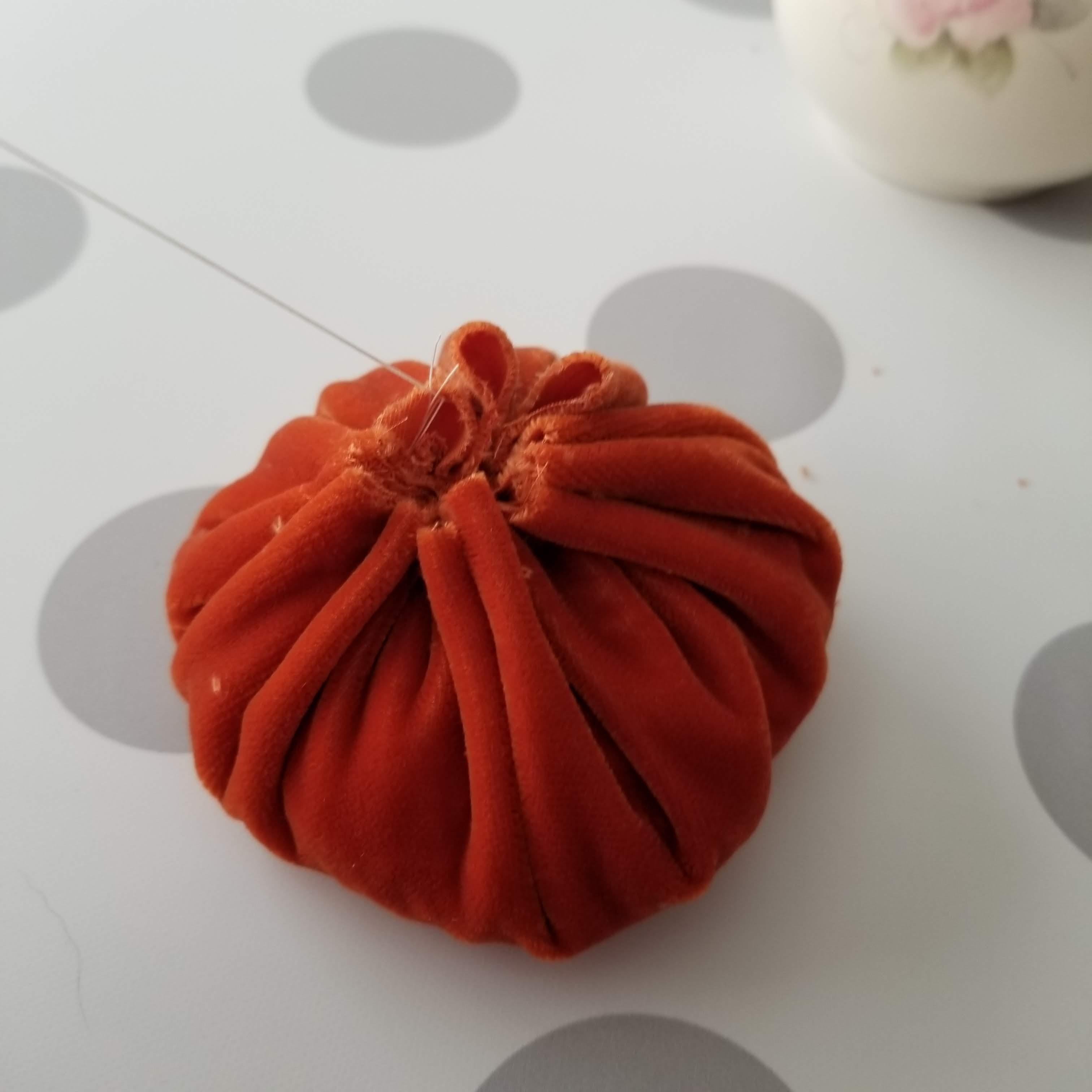 cinch felt pumpkin stuffed