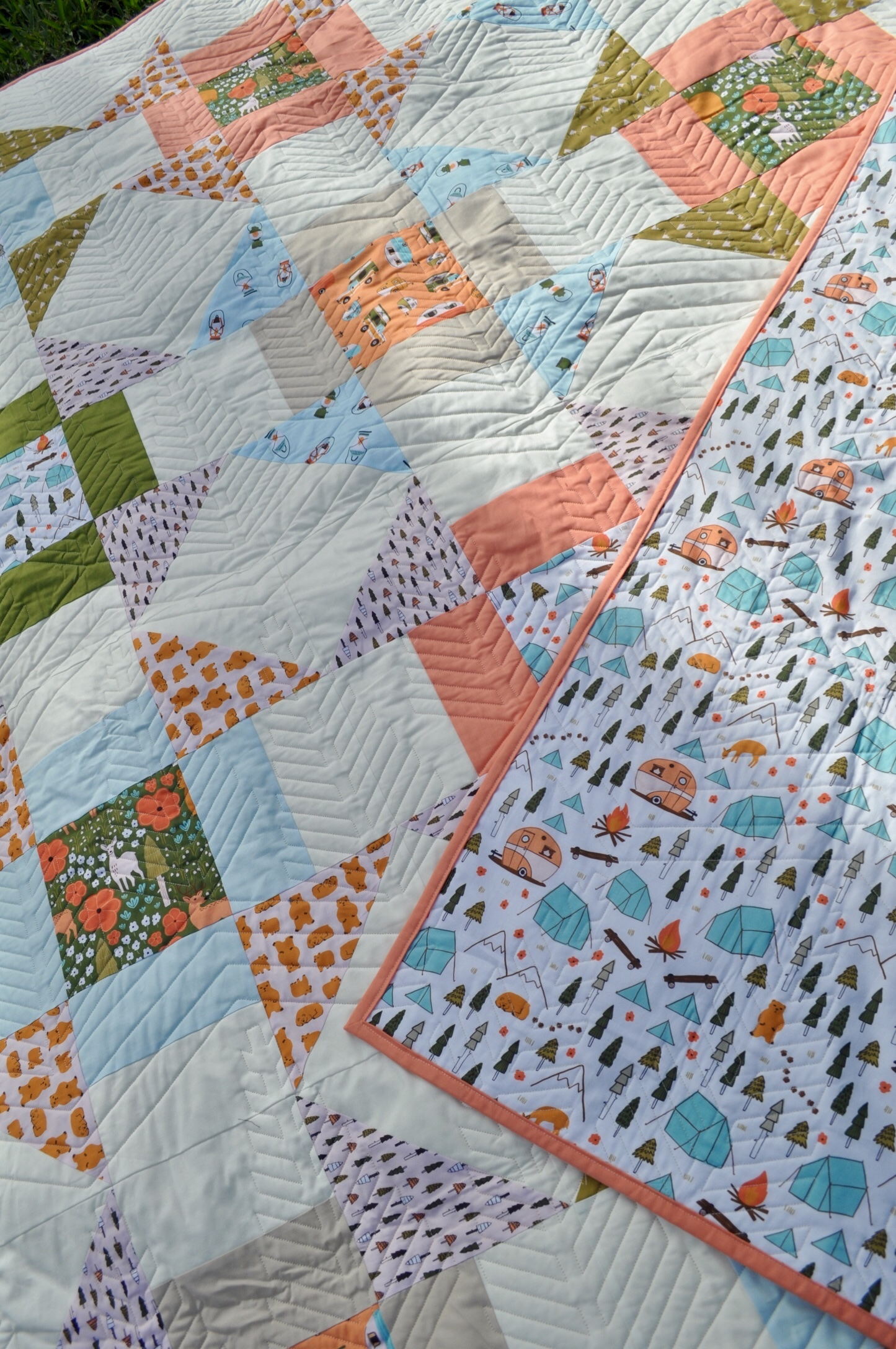 backing and front of quiltedited