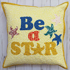 be a star quilted pillow for teachers