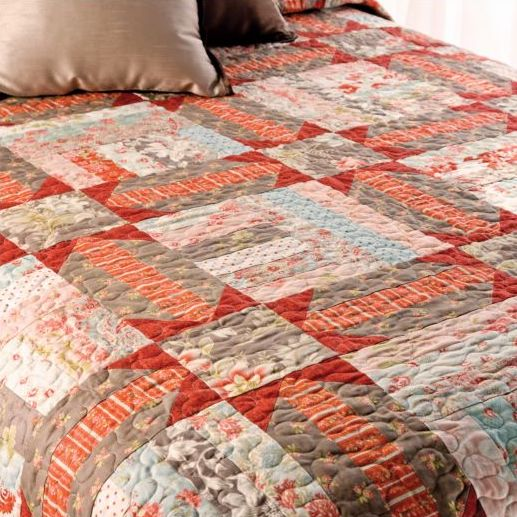 gardentrellis amish-inspired quilt