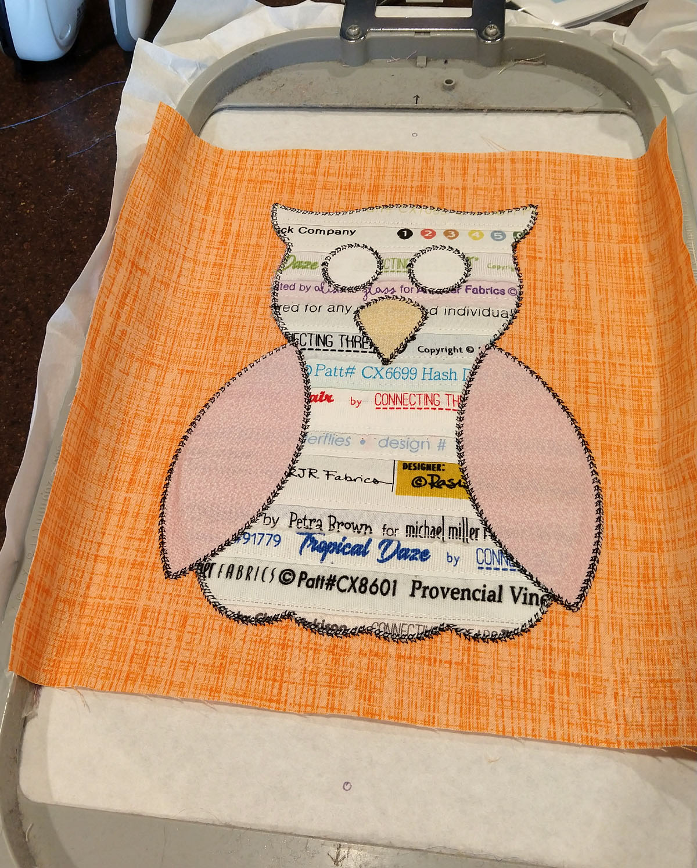 owl studio embroidered pillow19