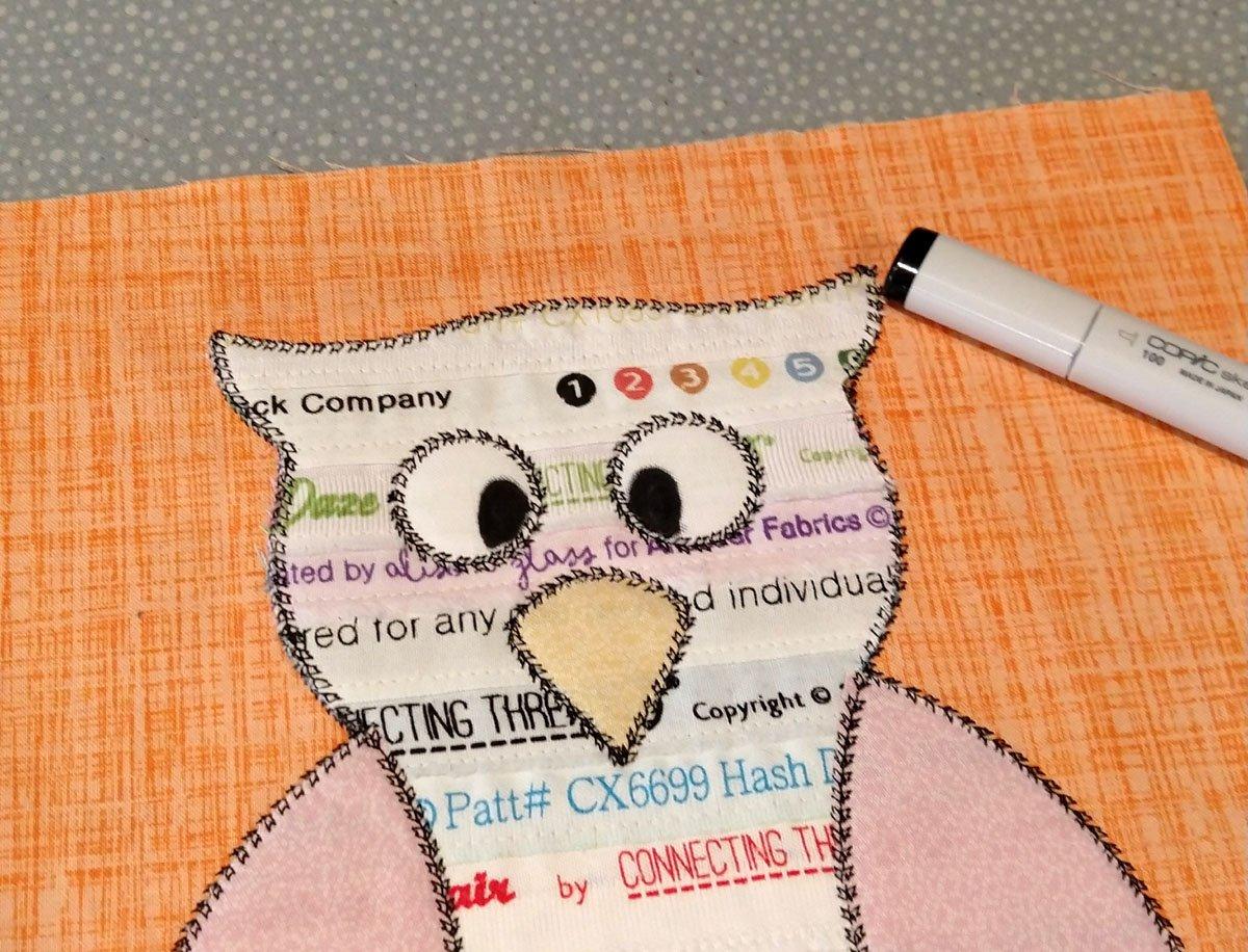 owl studio embroidered pillow21