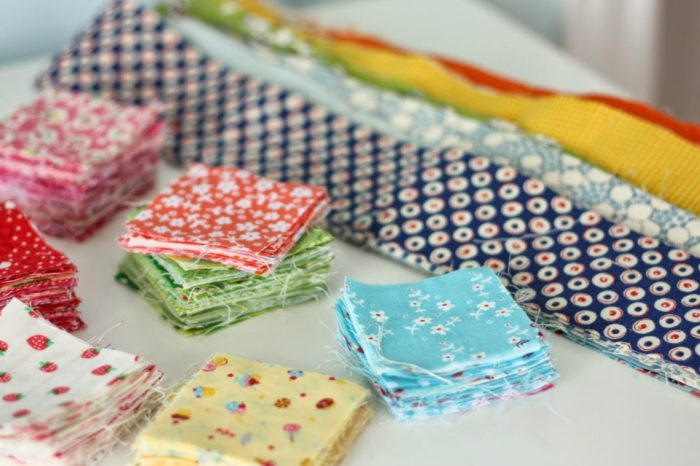 sort-fabric-scraps-by-size