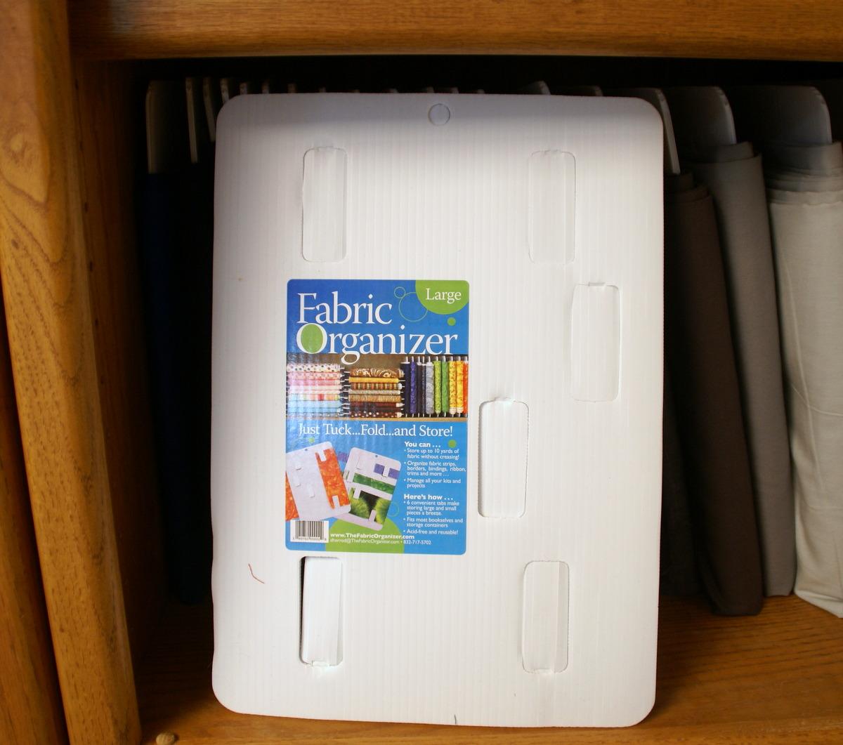 fabric organizer mini bolt fabric organizer