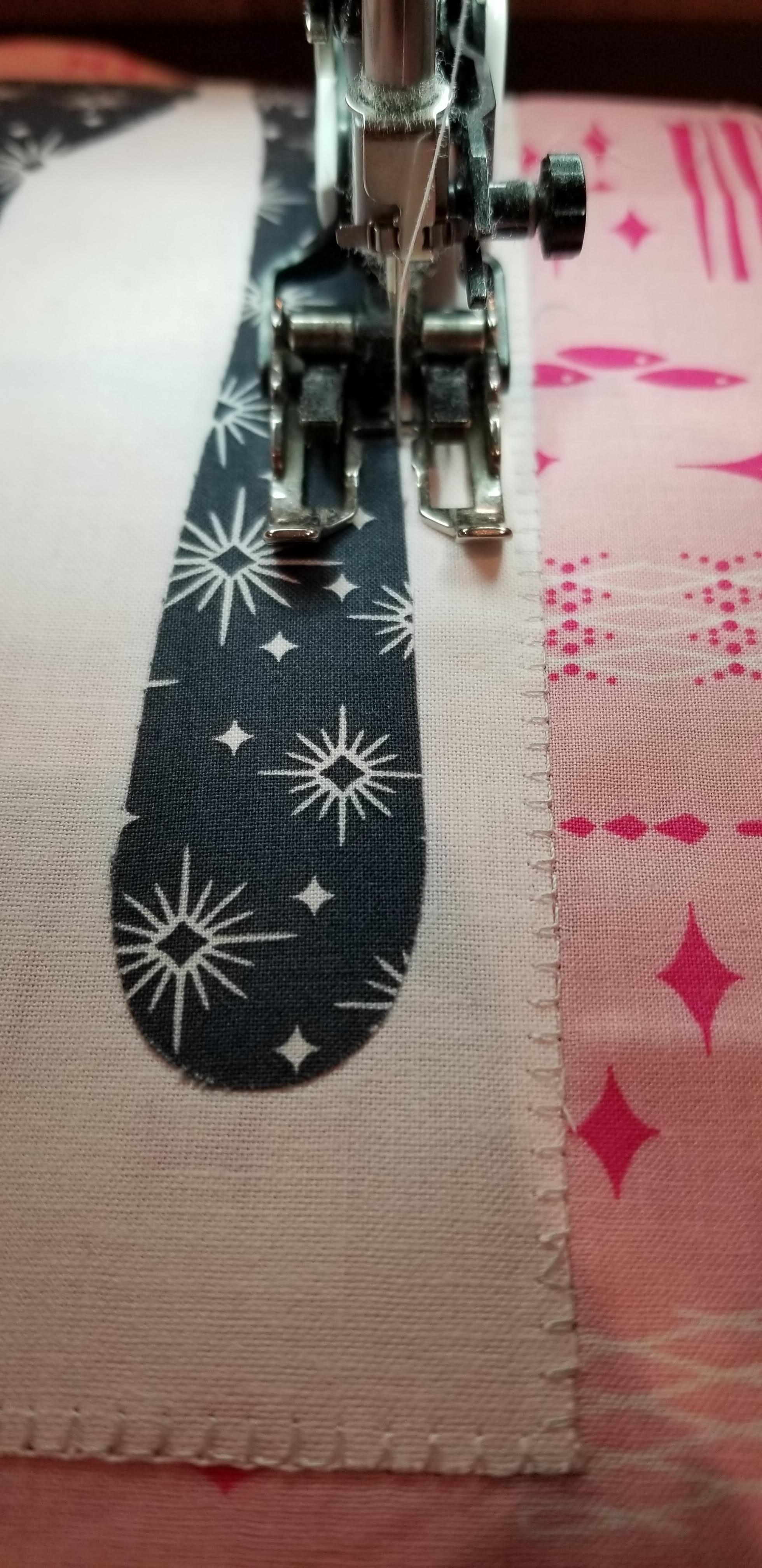 blanket stitch accuquilt applique