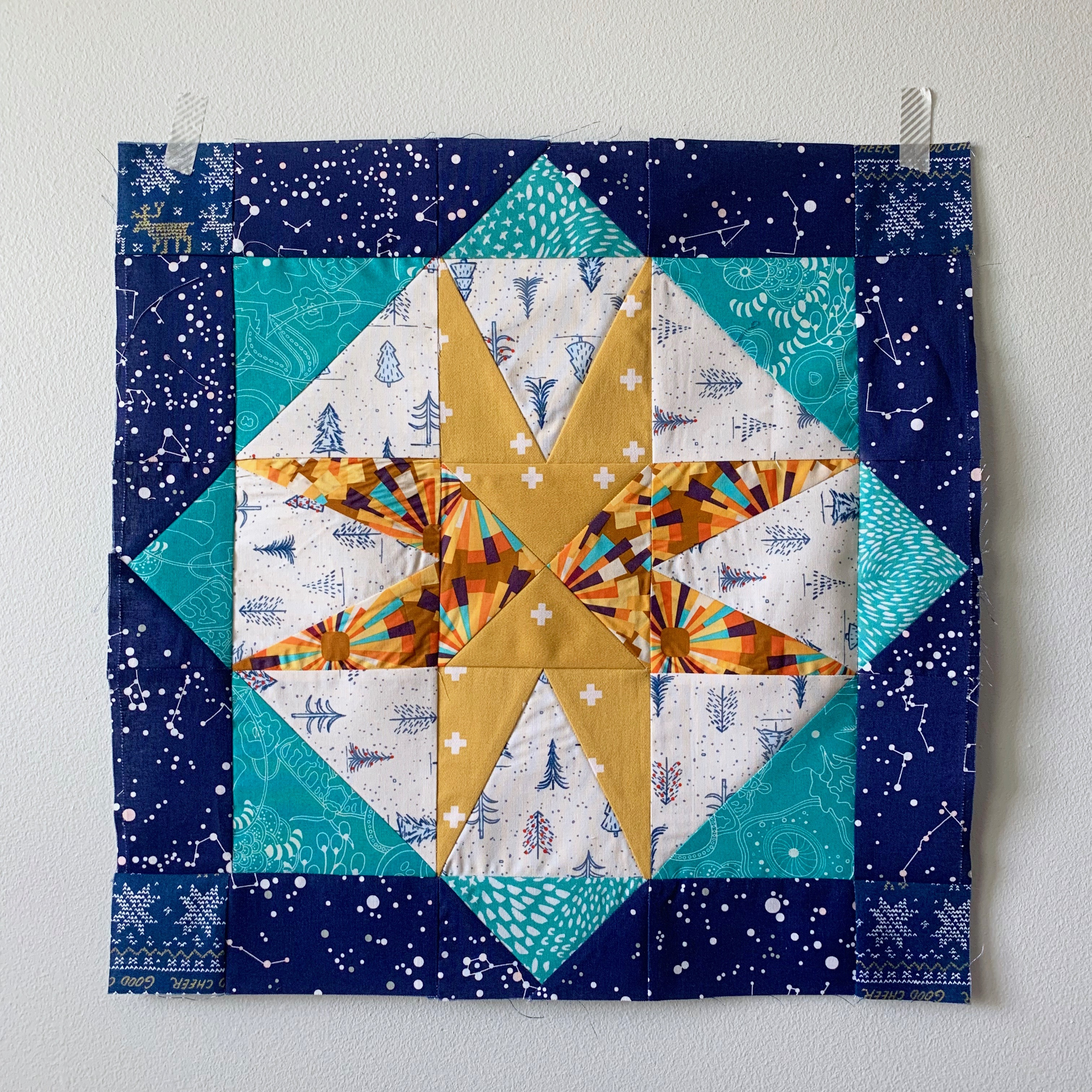 star island quilt block