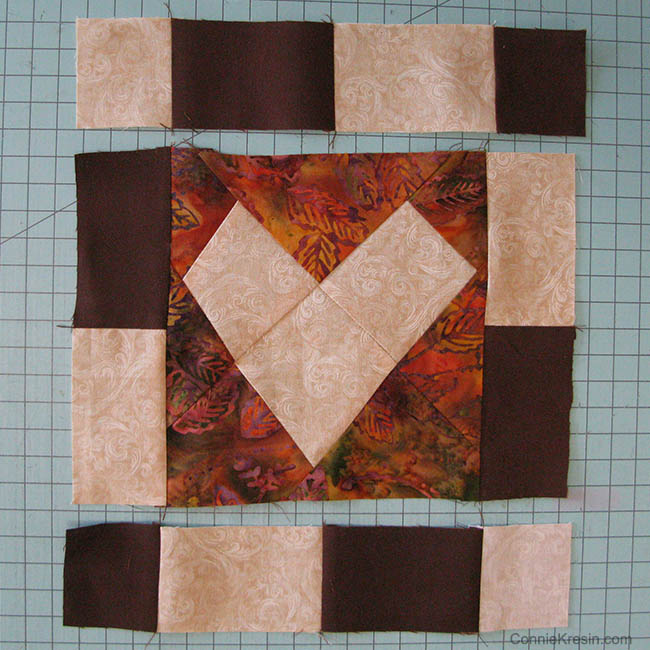 Make 2 with the fabric selections shown below.