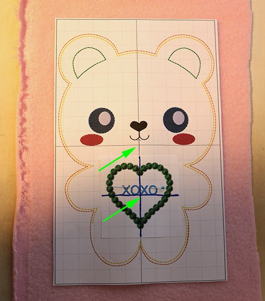 Can dy Hearts Machine Embroidery