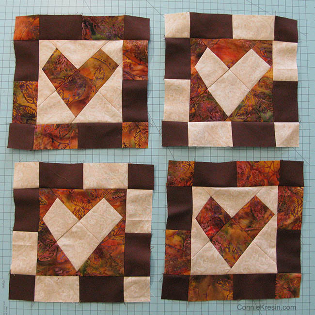 AccuQuilt GO! Wonky Heart Die Table Topper