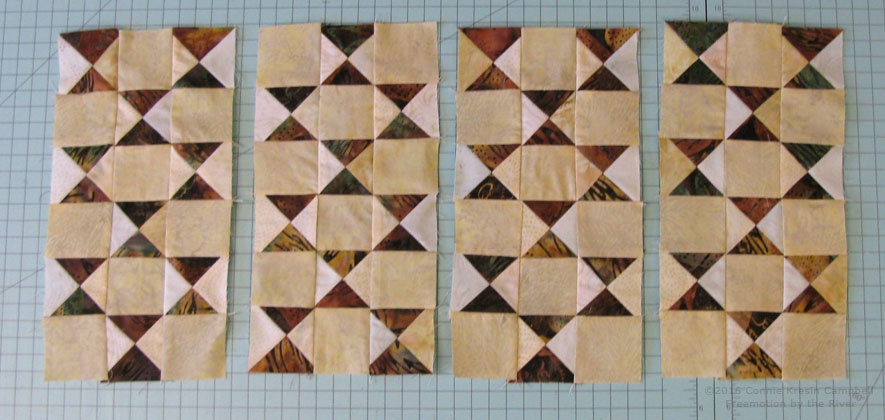 Serendipity blocks for table runner