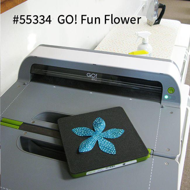 Using the AccuQuilt GO! Fun Flower die