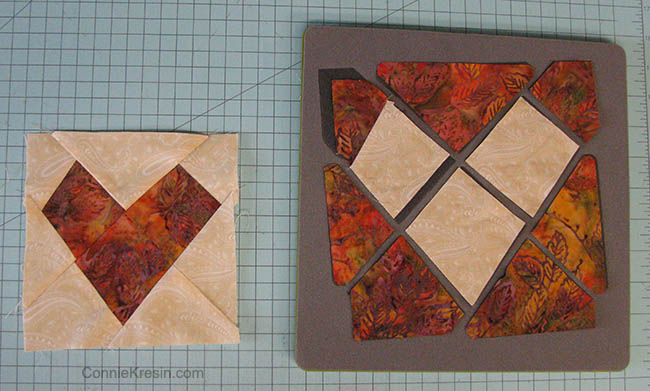 You will be surprised at how easy it is to make this block.