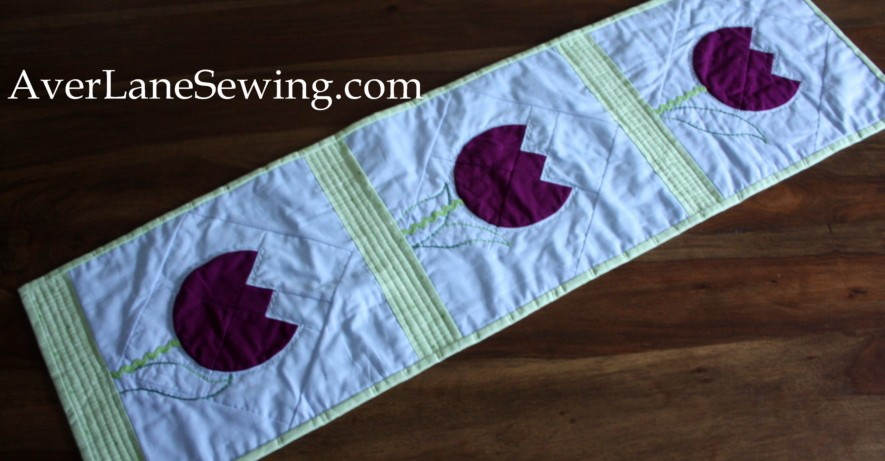AccuQuilt Tulip Quilt Tutorial