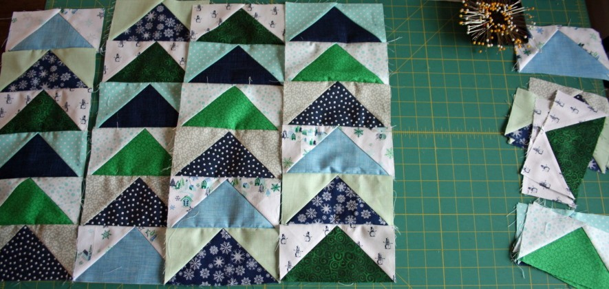 Accuquilt Flying Geese Hostess Apron Tutorial 7