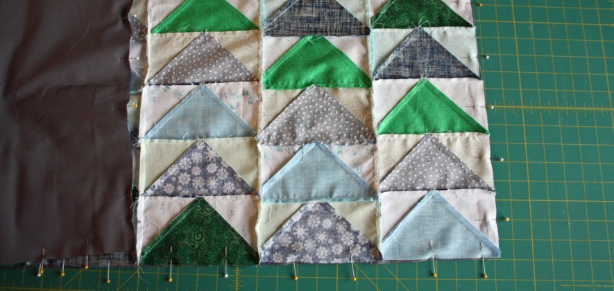Accuquilt Flying Geese Hostess Apron Tutorial 7a