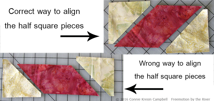 Correct way to use the Parallelogram die