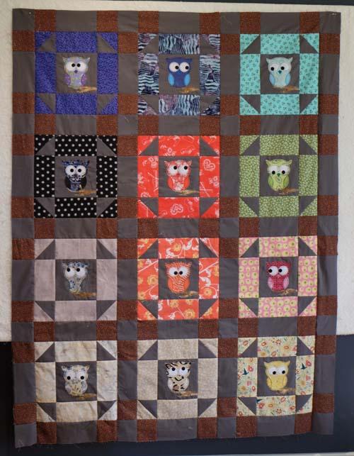 owl quilt 8