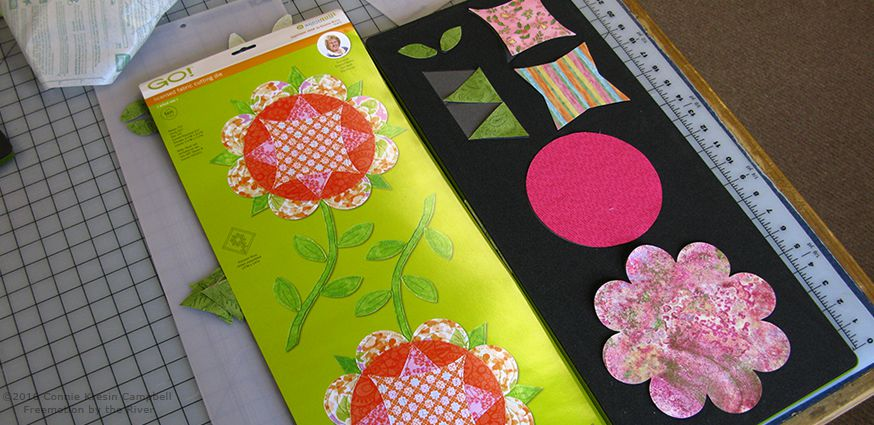 GO! Harriosn Rose die for the applique pieces