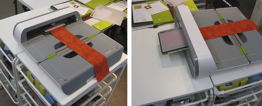 Ikea storage system works perfect to hold the AccuQuilt GO! Electric Cutter