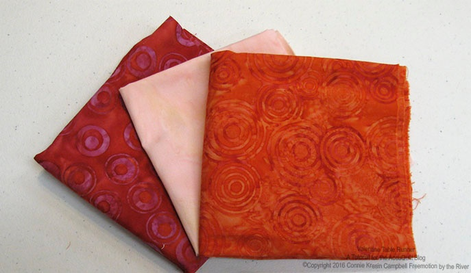 Island Batik fabrics from the Lavish collection