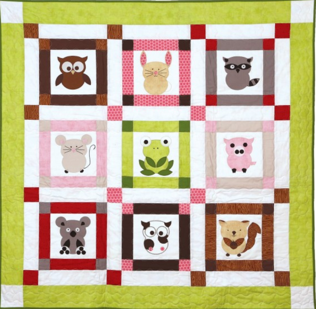 talk to the animals Baby Quilt Patterns