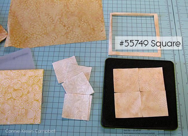 Cutting the GO! Serendipity squares of batik