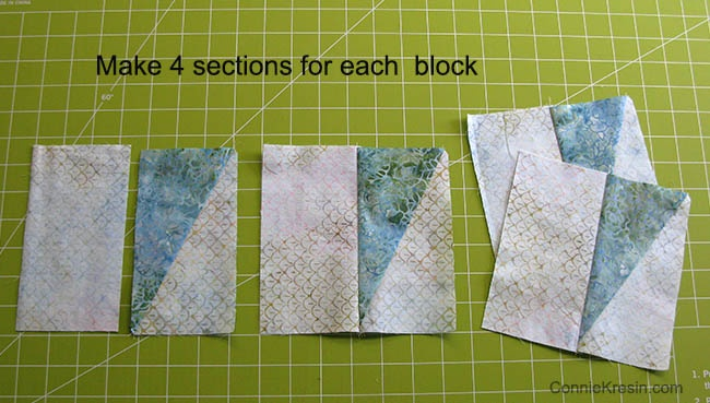 Twirling Windmills Fast and Easy Quilt tutorial