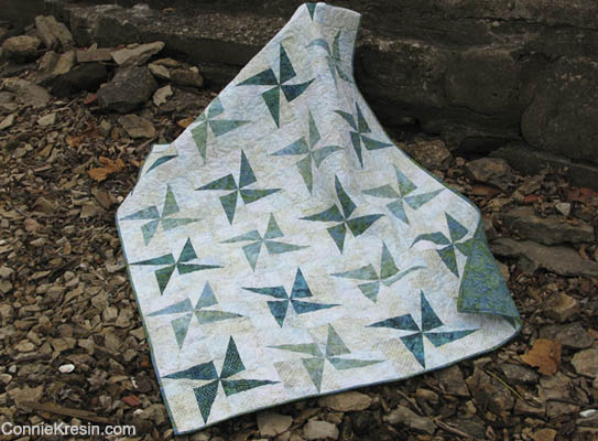 Twilring Windmills Fast and Easy Quilt