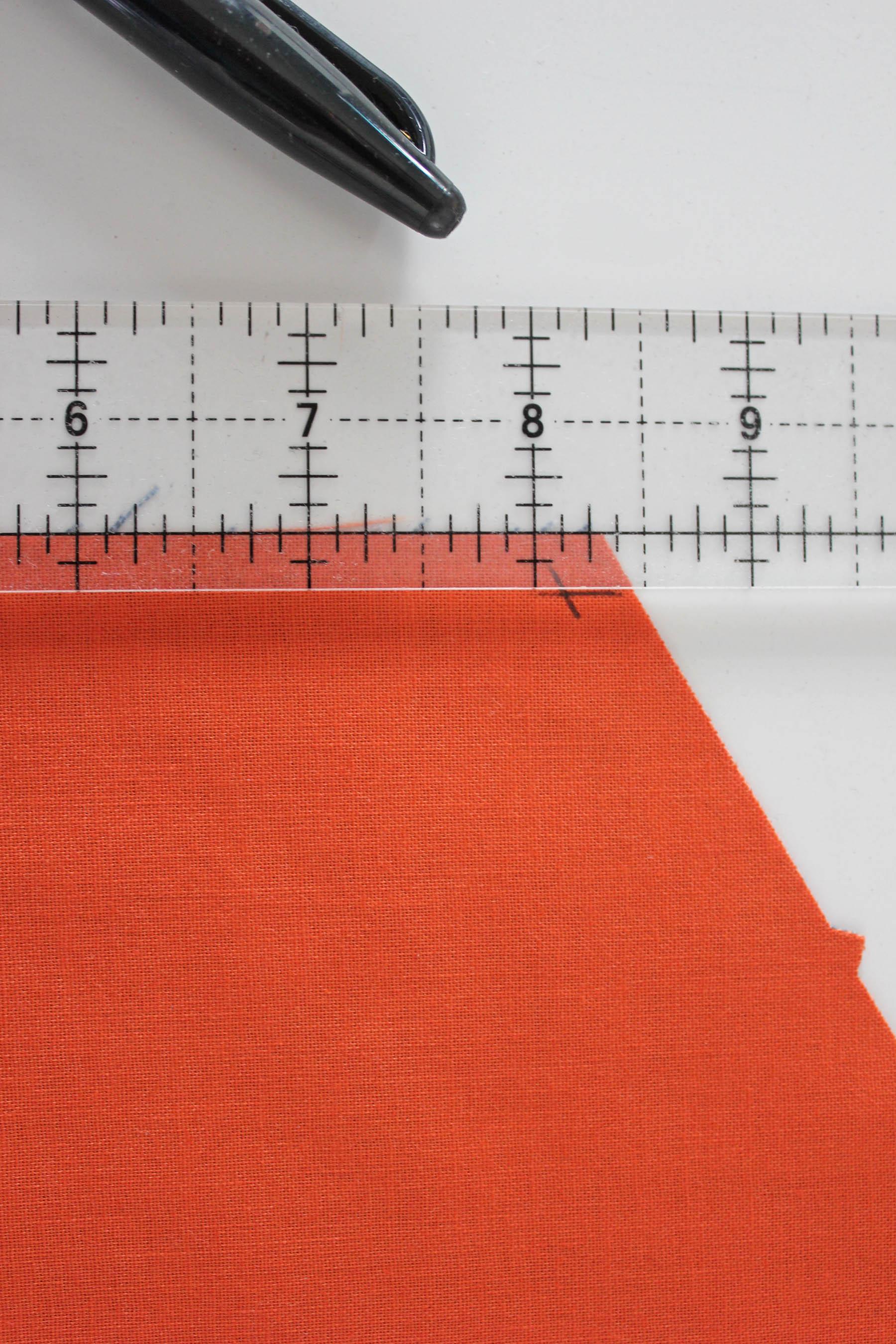 y seam quarter inch seam ruler