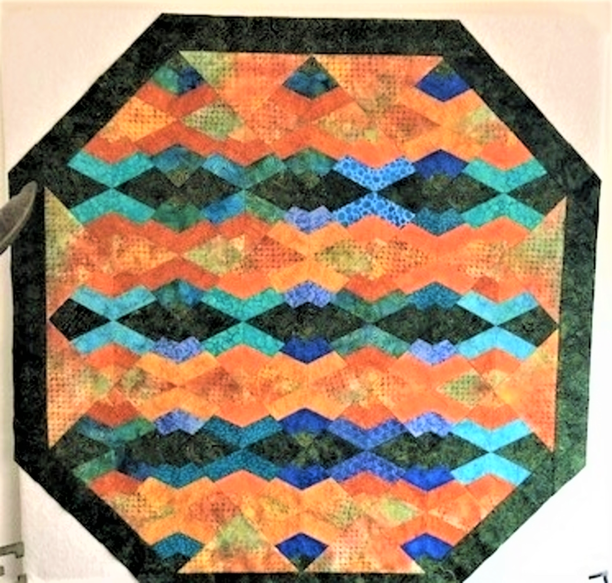 spider web quilt inside border